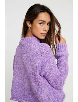 "Urban Outfitters – Pullover ""Milo"" Aus Chenille Mit Stehkragen In Lila by Urban Outfitters Shoppen"