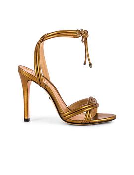 Yvi Heel In Bronze Metallic by Schutz