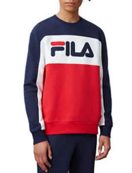 Men's Lesner Fleece Crew Neck Sweatshirt by Fila