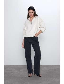 Kombinierter Pullover Mit Pailletten by Zara
