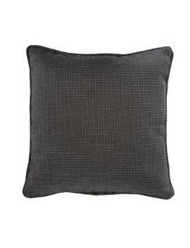 Argos Home Textured Weave Cushion   Black933/5343 by Argos