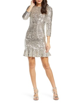 Sparkle & Shine Sequin Minidress by Ali & Jay