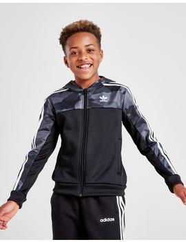 Adidas Originals Spirit Camo Full Zip Hoodie Junior by Adidas Originals