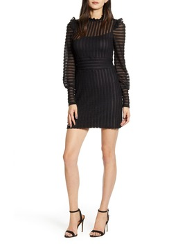 Alessandra Long Sleeve Pointelle Minidress by Bailey 44