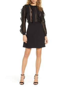 Patricia Long Sleeve Lace Dress by French Connection