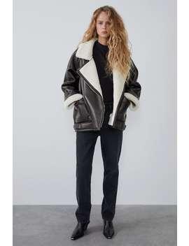 Oversized Double Faced Jacket by Zara