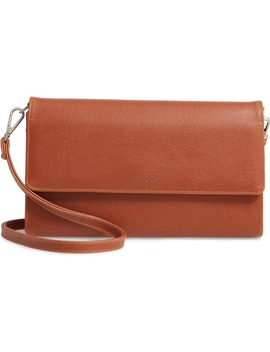 Large Drew Faux Leather Crossbody Bag by Matt & Nat