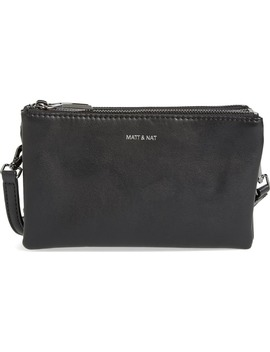 T Triplet Faux Leather Crossbody by Matt & Nat