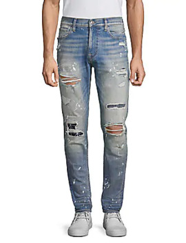 Zack Distressed Skinny Jeans by Hudson Jeans