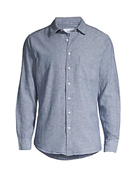 Abe Linen & Cotton Shirt by Onia