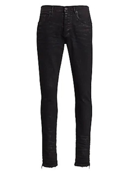 P001 Slim Fit Foil Finish Jeans by Purple Brand