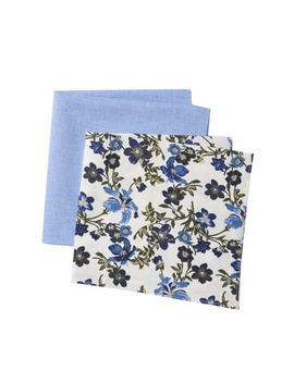Addison Floral Pocket Squares   Pack Of 2 by 14th & Union