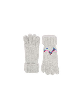 Chevron Sequin Gloves by Oasis