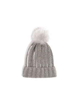 Sequin Ribbed Beanie by Oasis
