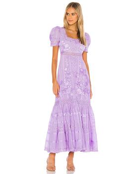 Ryan Dress In Lavender by Love Shack Fancy