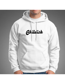 Childish Tgf Men's White Hoodie by Unbranded