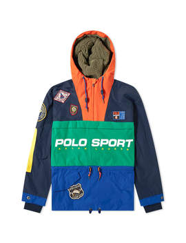Polo Ralph Lauren Polo Sport Sportsman Patched Hooded Jacket by Polo Sport