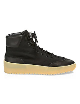 Sixth Collection Leather High Top Sneakers by Fear Of God