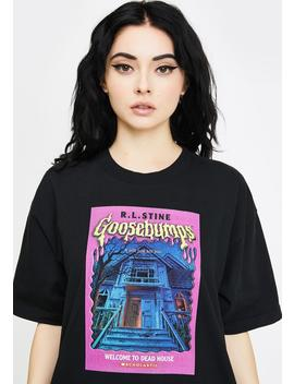 Goosebumps Welcome To Dead House Graphic Tee by Dumbgood