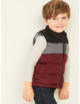 Frost Free Puffer Vest For Toddler Boys by Old Navy