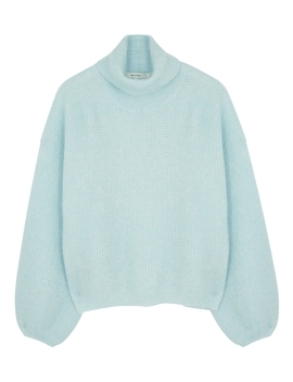 Brenda Gz Blue Mohair Blend Jumper by Gestuz