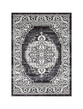 Buchan Gothic Black Area Rug by Astoria Grand