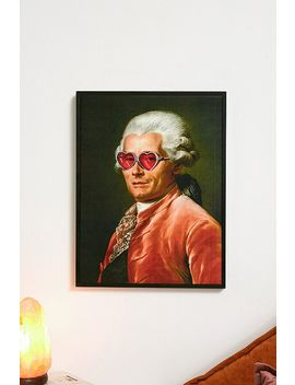 'sunglasses' Art Memes Wall Art Print by Urban Outfitters