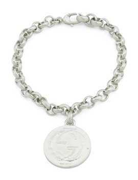 Made In Italy Sterling Silver Coin Bracelet by Tj Maxx