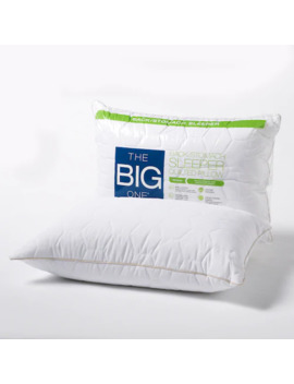 The Big One® Quilted Back & Stomach Sleeper Bed Pillow by The Big One