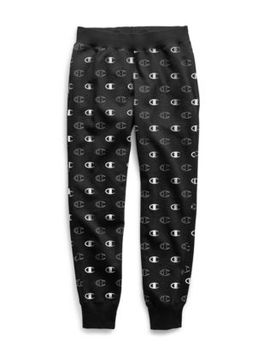 Champion Life® Men's Reverse Weave® Joggers, All Over Logo by Champion