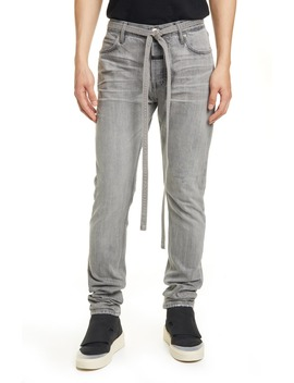 Tie Waist Slim Fit Jeans by Fear Of God
