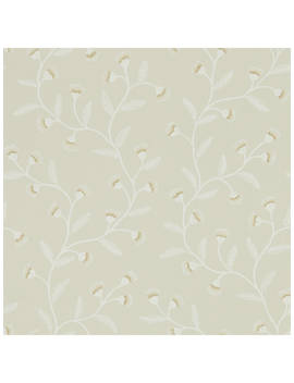 Sanderson Home Everly Wallpaper, Flint Dhpo216377 by Sanderson Home