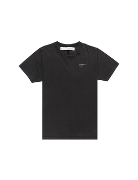 Off White Abstract Arrows Embroidered T Shirt Black/White by Stock X