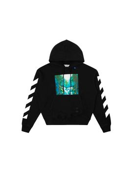 Off White Diag Waterfall Hoodie Black/Multicolor by Stock X