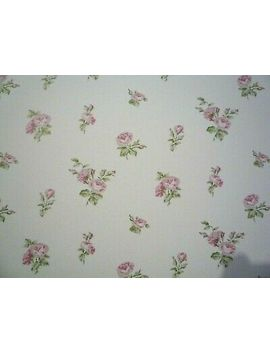 3 Rolls Galerie G34347 English Florals Green Pink White Small Flower Wallpaper by Ebay Seller