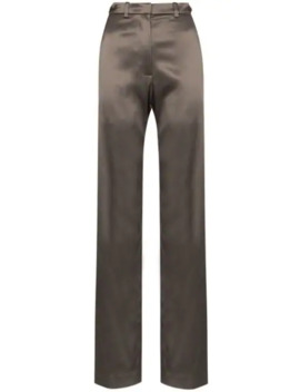 High Rise Straight Leg Trousers by We11done
