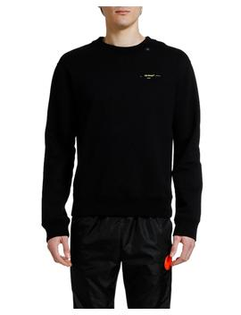 Men's Acrylic Arrows Slim Crewneck Sweatshirt by Off White
