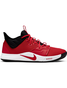 Nike Pg 3 University Red by Stock X
