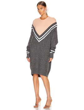 V Knit Dress by Y/Project