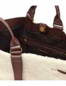 Wardym Shearling Tote by Isabel Marant