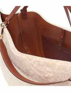 Mia Shearling Tote by Wandler