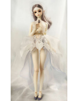 1/6 Bjd Doll Sd Girl Asia Human Body Free Face Make Up+Eyes by Unbranded