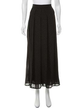 Polka Dot Pleated Skirt by Michael Michael Kors
