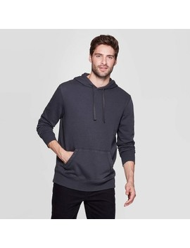 Men's Standard Fit Fleece Pull Over Hoodie (X Small   Big & Tall 5 X)   Goodfellow & Co™ by Goodfellow & Co