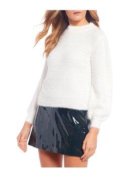 Mockneck Eyelash Sweater by Gb