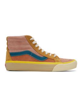 Pink Reissue Vi Sk8 Hi Sneakers by Vans