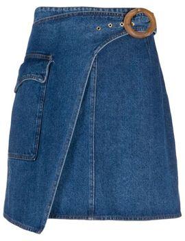 Wrap Mini Skirt by Nanushka