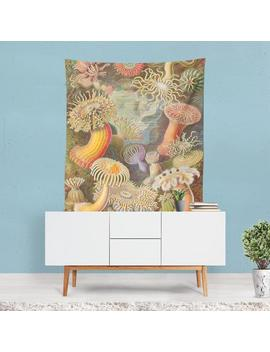 Marine Life Tapestry, Sea Wall Art, Ocean Wall Art, Colorful Print, Nature Wall Hanging, Psychedelic Decor, Underwater Art, Artistic Gifts by Etsy
