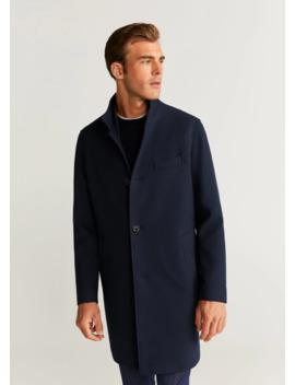 Serge Tailored Coat by Mango