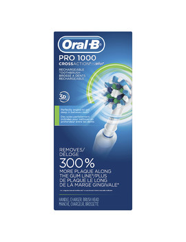 Oral B 1000 Cross Action Electric Toothbrush White1.0 Ea by Walgreens